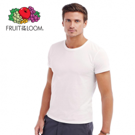 Maglietta uomo bianca Fruit of the Loom