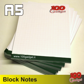 Block notes A5 personalizzato