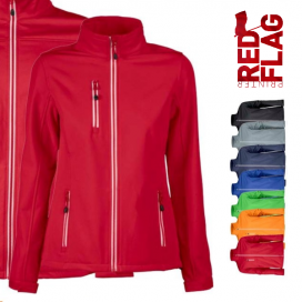 Giacca donna Softshell RED FLAG