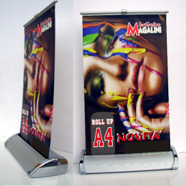 Roll-Up LUX formato A4